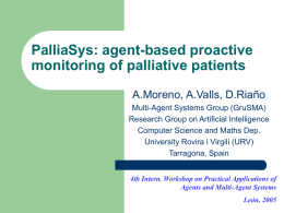 PalliaSys - Research Group on Artificial Intelligence
