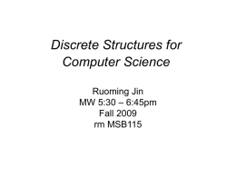 Introduction - Computer Science