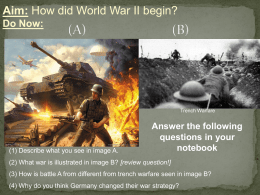 02-25 How did WWII Begin