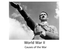 PPT - World War II
