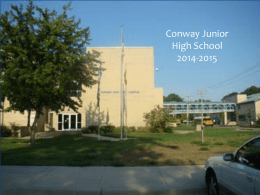 File - Conway Junior High