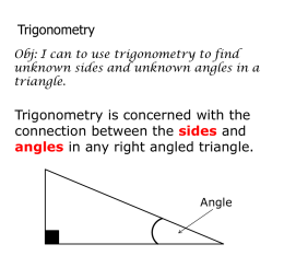 trigonometry-part-1