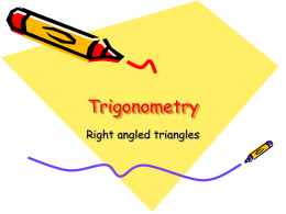 Trigonometry - Suffolk Maths