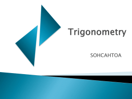 Trigonometry - Blog 44 Sites