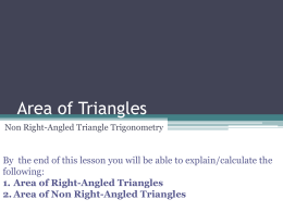 Area of Triangle File