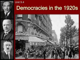 C22-Euro-PPT-Democracies_in_the_1920s