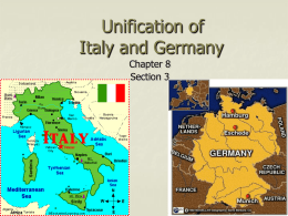 italian and german unification of 19th cenutry essay The history of the unification of germany and italy during the 19th century pages 1 most helpful essay resource ever.