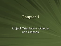 Chapter 1: Basic Object Information