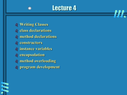 Lecture 4 powerpoint slides
