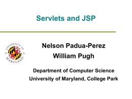PPT - University of Maryland at College Park