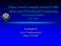 JDC_Lecture6 - Computer Science