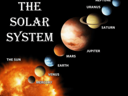 Planets PPT - Troup County Schools