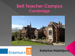 Bell Teacher Campus Cambridge