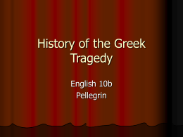 History of the Greek Theatre - William S. Hart Union High