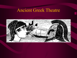Origins of Theatre powerpoint
