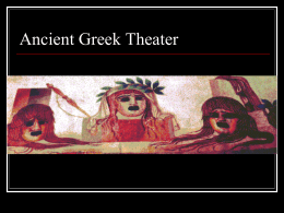 Greek Theater PowerPoint