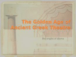 greek theatre - Google Project Hosting