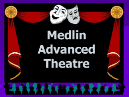 Medlin Advanced Theatre