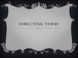 Directing Terms