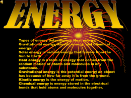 Solar energy - Teacher Pages