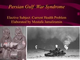 an analysis of the mysteries of the gulf war syndrome Medical conditions and illnesses associated with the gulf war nearly 30 percent of the 700,000 soldiers who served in the persian gulf war from 1990–1991 developed gws the symptoms are broad, can be debilitating, and hard to categorize into a clear, single diagnosis for this reason, the va usually doesn't refer to gulf war syndrome by that.