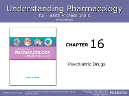 Chapter 16 lesson 2 - ROP Pharmacology for Health Care