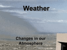 Ch7 Atmospheric Energy and Moisture Pt1