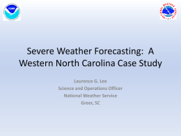 Larry_lee_Severe Weather Forecasting.ppsx
