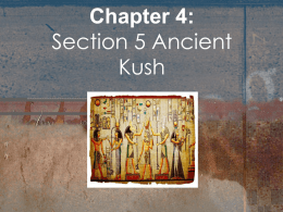 Chapter 4: Section 4 Egyptian Achievements