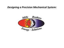 Precision Mechanical Systems - Mills Brothers Heating & Air