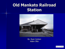 Old Mankato Railroad Station