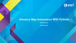Advance Map Automation With Python