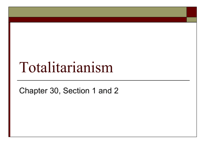 30.2 totalitarianism case study stalinist russia