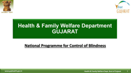 National Programme for Control of Blindnes