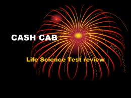 Cash Cab Cell Review Game