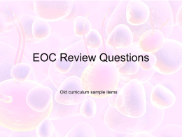 EOC Review Questions2