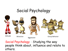 Social Psychology - Solon City Schools