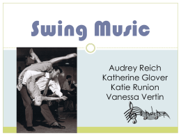 Swing Genre Powerpoint