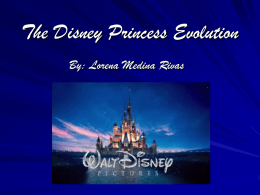 The Disney Princess POWERPOINT