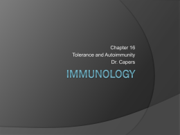 Kuby Immunology 6/e - Dr. Jennifer Capers, PhD