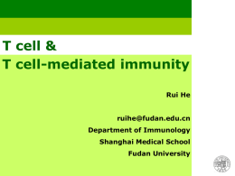 Types of cell-mediated immune reactions