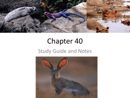 Chapter 40 Study Guide Answers