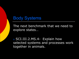 Body Systems - Warren Consolidated Schools