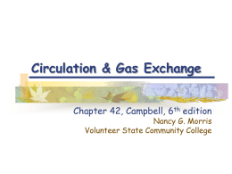 Chapter 42:Circulation - Volunteer State Community College