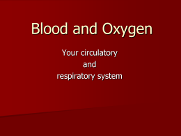 Blood and Oxygen - science-teachers