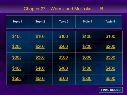 Chapter 27 Jeopardy Review B