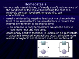 Homeostasis - Cloudfront.net