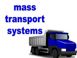 2.1b Transport & gaseous exchange