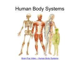 Human Body Systems - Thomas C. Cario Middle School