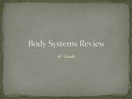 Body Systems Reviewx
